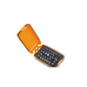 Serie di 30 inserti colorati con portainserti magnetico in astuccio tascabile