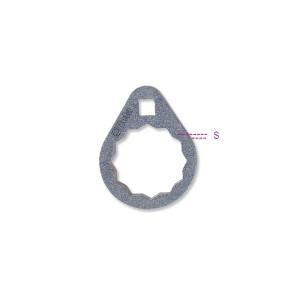 Chiavi poligonaliper cartucce filtri olio di difficile accesso
