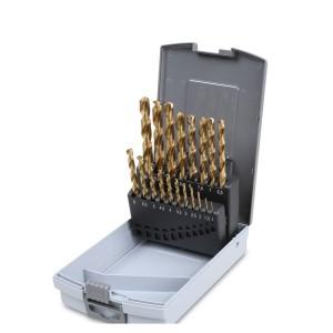 Serie di punte  in cassetta metallica
