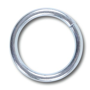 Anelli acciaio zincato