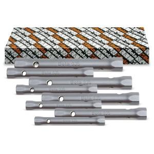 Serie di chiavi a tubo doppie esagonali serie leggera