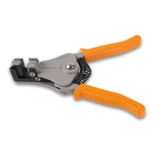 Alicates para descarnar fio  com dispositivo de corte