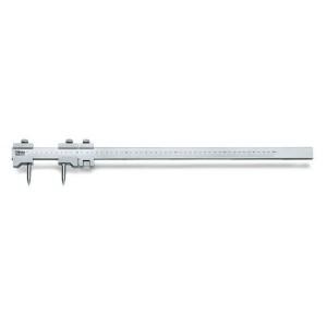 Compassos de vara corpo e pontas  de traçagem em aço temperado