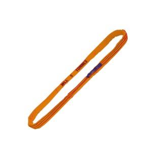 Estropos redondos, laranja, 10 t, em poliéster de elevada tenacidade (PES)