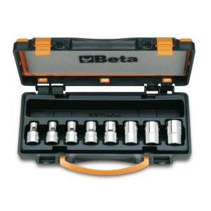 Chaves de caixa para parafusos  de perfil Torx®