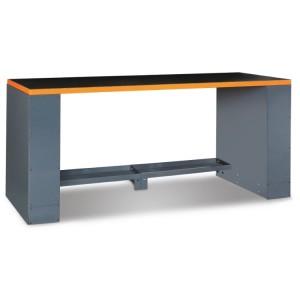 Bancada de trabalho com 2m de comprimento, para combinar com mobiliário de oficina
