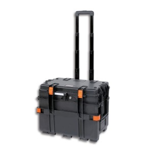 Tool trolley, made of polypropylene, with 4 drawers