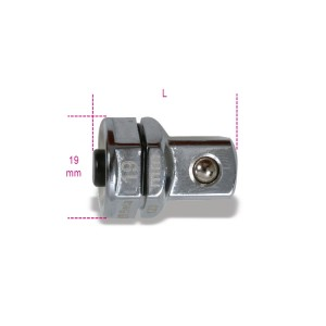 "Quick release adaptor, 1/2"", for 19 mm ratcheting wrenches"