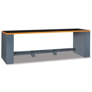 2.8-m-long workbench, for workshop equipment combination