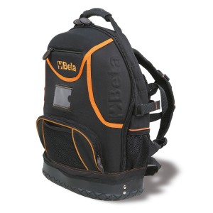 Tool rucksack, made of technical fabric, empty
