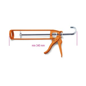 Pistola para masilla impermeable  de chapa pintada