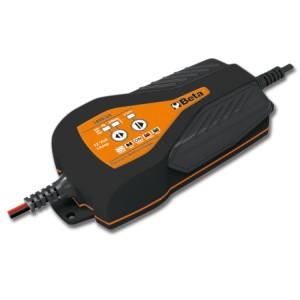 Electronische batterijlader voor wegmotoren, 12V