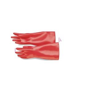 Isolerende handschoenen  vervaardigd uit latex