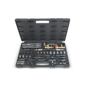 Set van adapters voor item 960TP in kunststof koffer