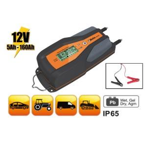 Electronische batterijlader voor auto en bedrijfsvoertuigen, 12V