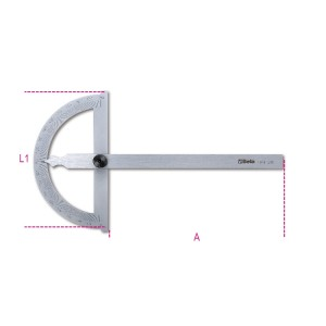 Goniometri semplici in acciaio inossidabile