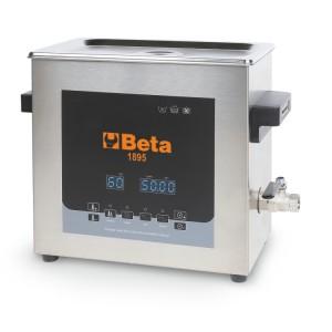 Vasca di lavaggio ad ultrasuoni  da 6 litri con funzione speciale di degassificazione