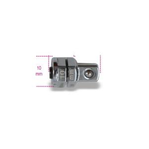 """Adattatore a sgancio rapido da 1/4"""" per chiavi a cricchetto da 10 mm cromato"""