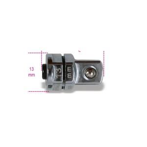 """Adattatore a sgancio rapido da 3/8"""" per chiavi a cricchetto da 13 mm cromato"""