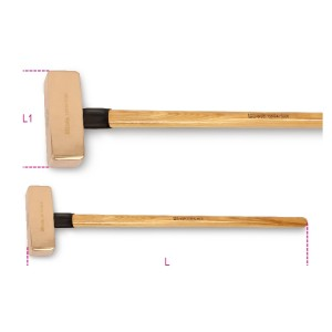 Mazze antiscintilla  manico in legno