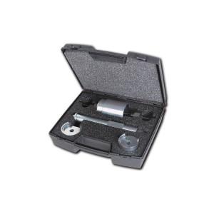 Assortimento di utensili per l'estrazione e l'introduzione dei silent block di Fiat Panda 4x4, Panda Metano e Cross, Fiat 500, Ford Ka e Opel Adam