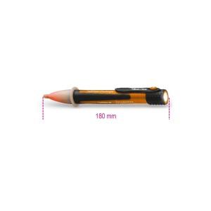 Rilevatore di tensione AC senza contatto con mini torcia LED
