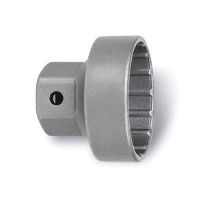 Chiave a bussola estrattore per movimento centrale a 16 tacche