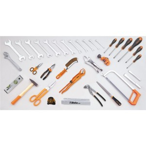 Assortimento di 35 utensili per idraulica