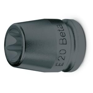 """Chiavi a bussola  per viti con profilo Torx® con attacco quadro  femmina 1/2"""" fosfatate"""