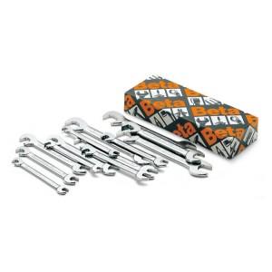 Serie di chiavi a forchetta doppie piccole