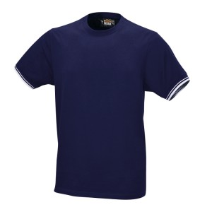 T-shirt work in 100% cotone 150 g, blu