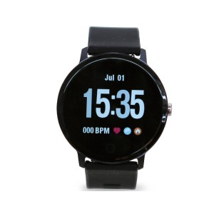 Smartwatch, touchscreen, fitness tracker, cinturino in silicone