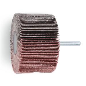 Ściernice listkowe trzpieniowe, ziarno elektrokorundowe na podłożu z płótna