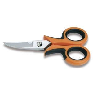 Nożyczki dla elektryków,  ostrza odgięte