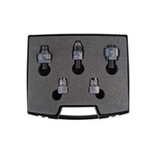 Komplet adapterów przeznaczonych do demontażu  wtryskiwaczy Siemens oraz Denso