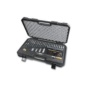 Zestaw adapterów umożliwiających pomiar ciśnienia sprężania przez otwory wtryskiwaczy i świec żarowych, do użytku z próbnikiem 1464T