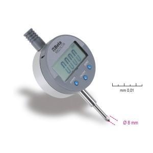 Czujnik zegarowy z odczytem cyfrowym, dokładność odczytu 0,01 mm