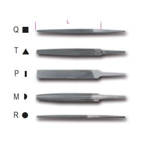 """Pilniki równiaki 6""""-150 mm,  bez rękojeści"""