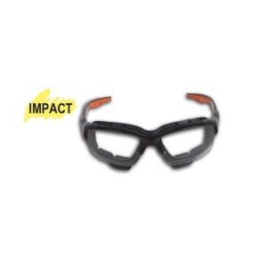 Okulary ochronne z bezbarwnymi soczewkami z poliwęglanu