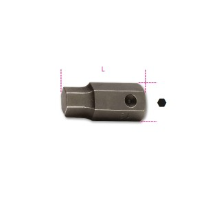 Końcówki wkrętakowe udarowe  sześciokątne z zabierakiem 16 mm