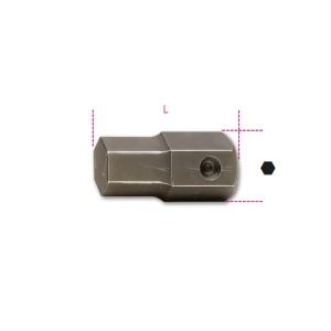 Końcówki wkrętakowe udarowe  sześciokątne z zabierakiem 22 mm