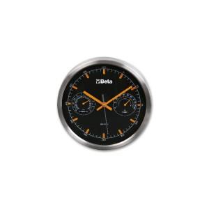 Zegar z termometrem i higrometrem, średnica 26 cm