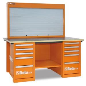 Stół warsztatowy z tablicą narzędziową MasterCargo