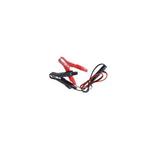 Przewód z zaciskami akumulatorowymi do urządzenia 1498SM do podtrzymania pamięci pojazdu, 12V