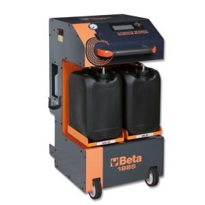 Urządzenie do wymiany oleju w automatycznych skrzyniach biegów