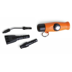 Pistolet do przedmuchiwania mini, z 3 dyszami