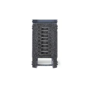Zestaw 9 pilników obrotowych z węglika spiekanego, w pudełku z tworzywa sztucznego