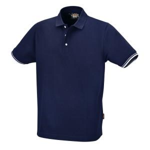 Koszulka polo, 100% bawełny, 200 g/m2, granatowa