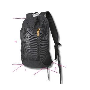 Plecak z tkaniny poliestrowej Oxford, wymiary 41x24x16 cm