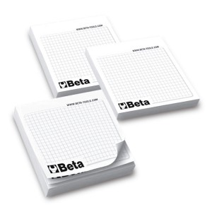 Komplet notatników z samoprzylepnymi kartkami (10 szt.)